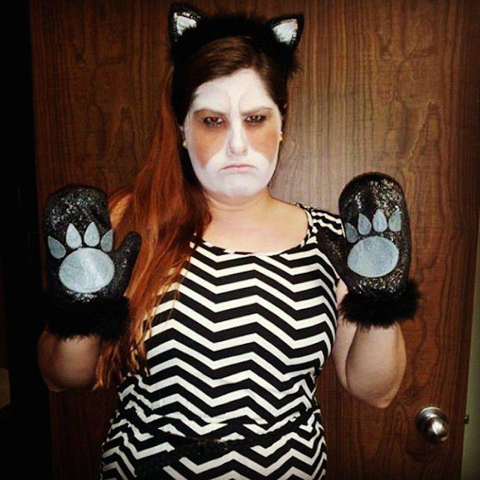Grumpy Cat Costume
