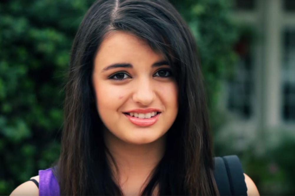 Screenshot from Rebecca Black's Friday Music Video