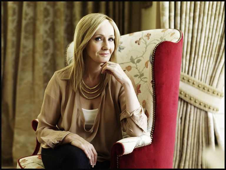 J.K. Rowling - Photo of Harry Potter Author