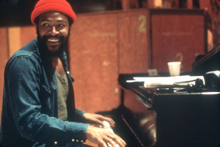 Marvin Gaye Recording In LA
