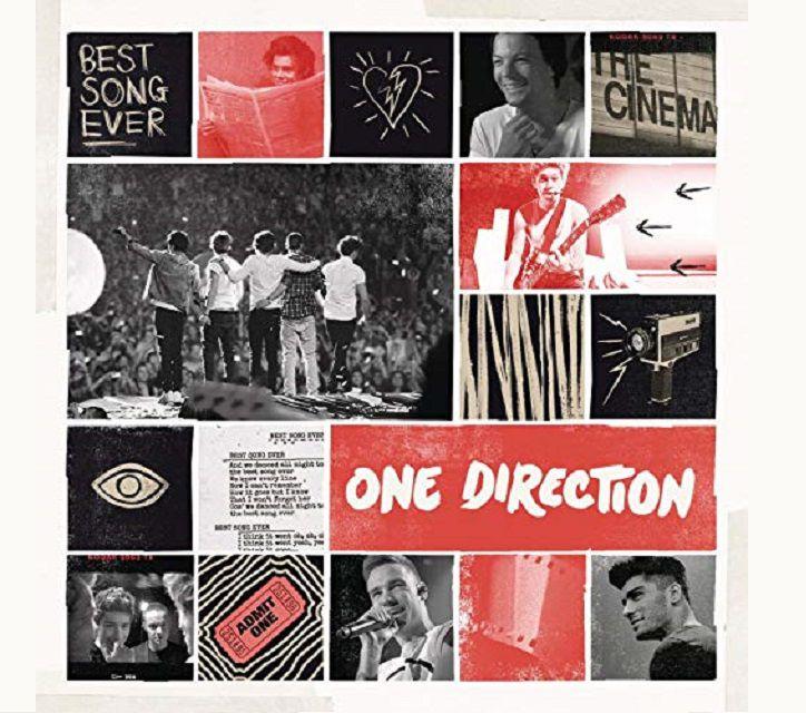 """""""Best Song Ever"""" album art."""