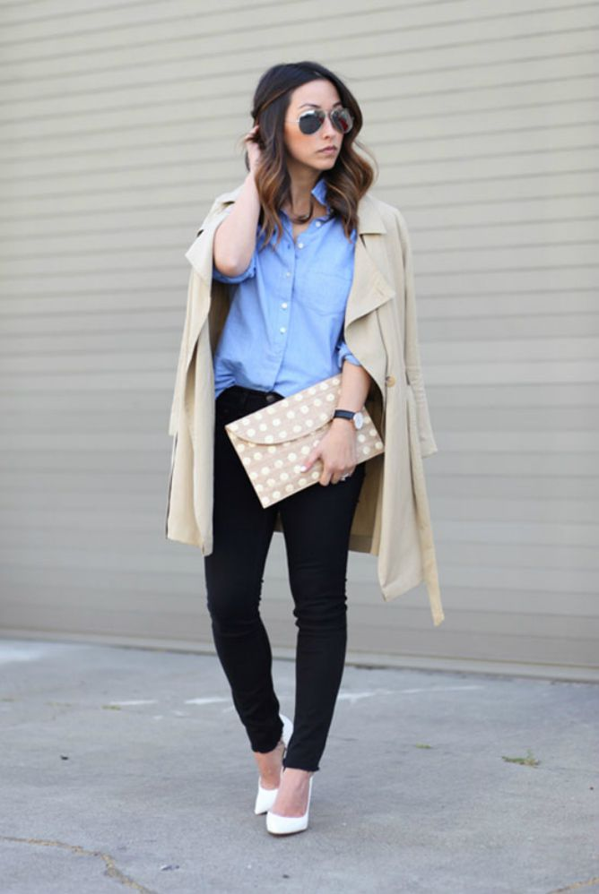 How To Wear Skinny Jeans For Work To Look Polished