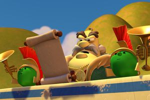 screen cap from Veggie Tales 'St. Nicholas'