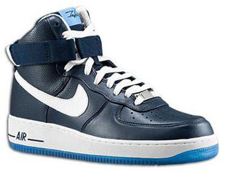 NIke Air Force 1 High Cut Fashion Couple Shoes White shoes