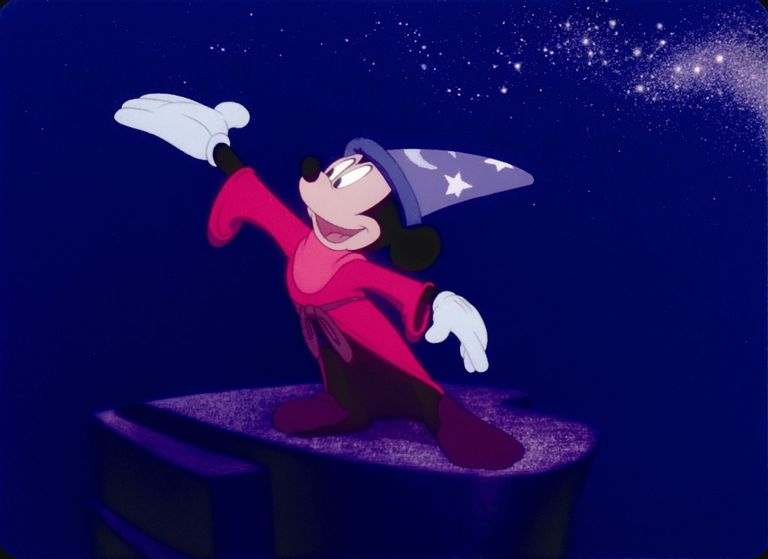 Wizard Mickey from Fantasia