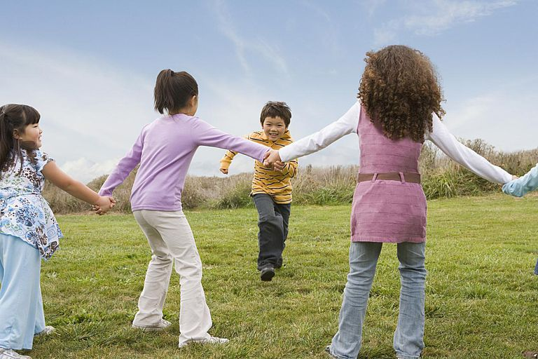 teach the grandchildren to play Red Rover