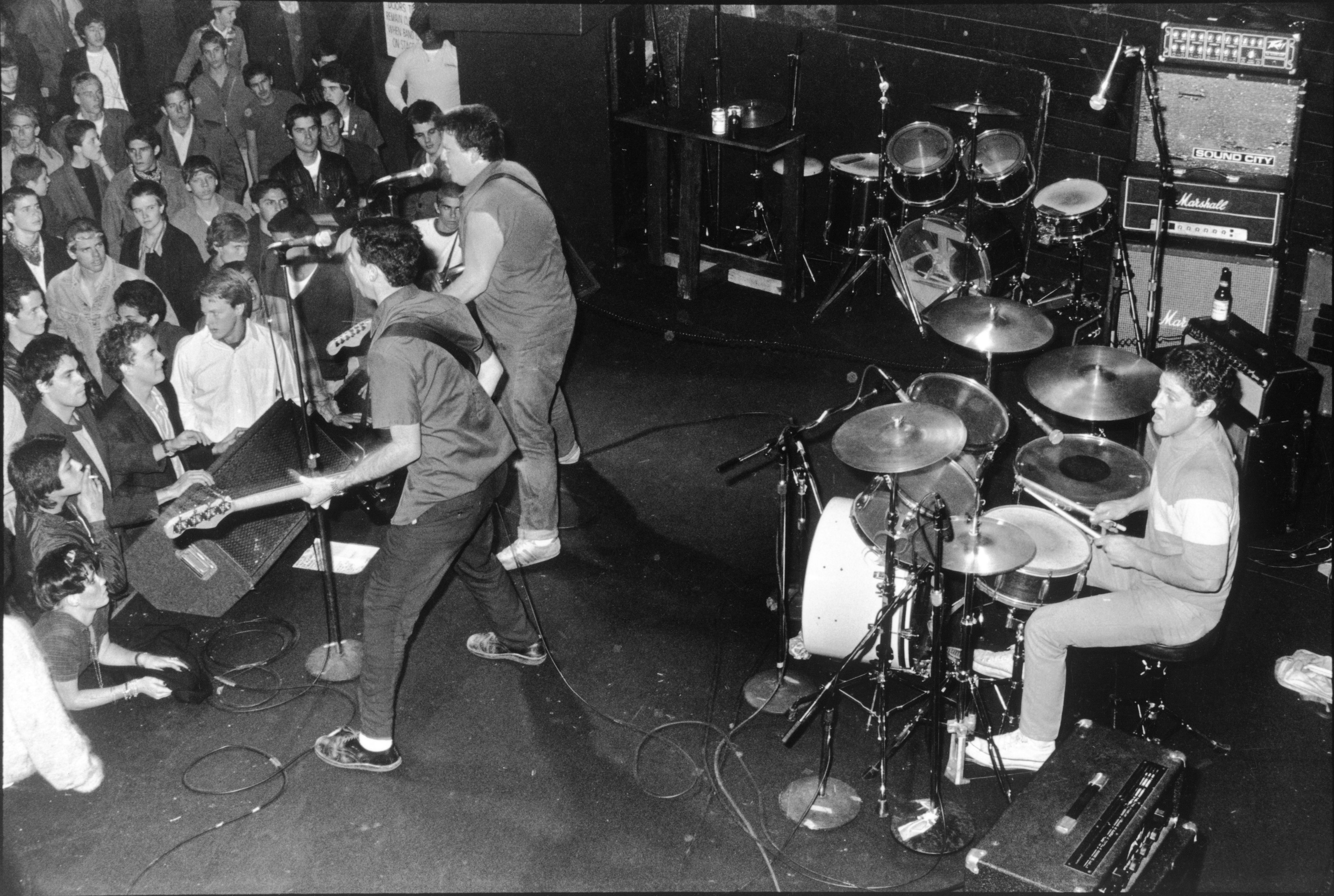 The Minutemen on Stage at The Starwood