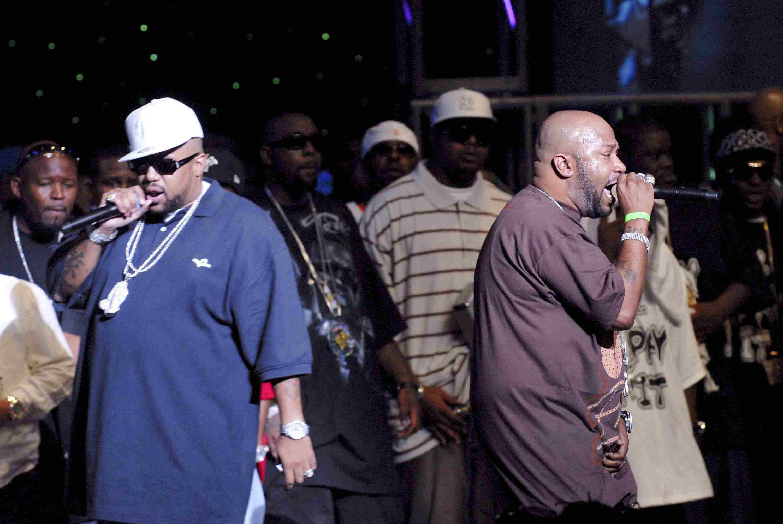 The rap duo UGK