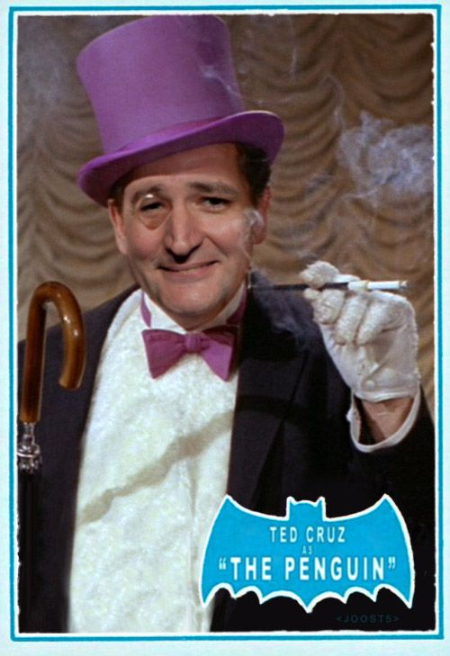 Ted Cruz as The Penguin
