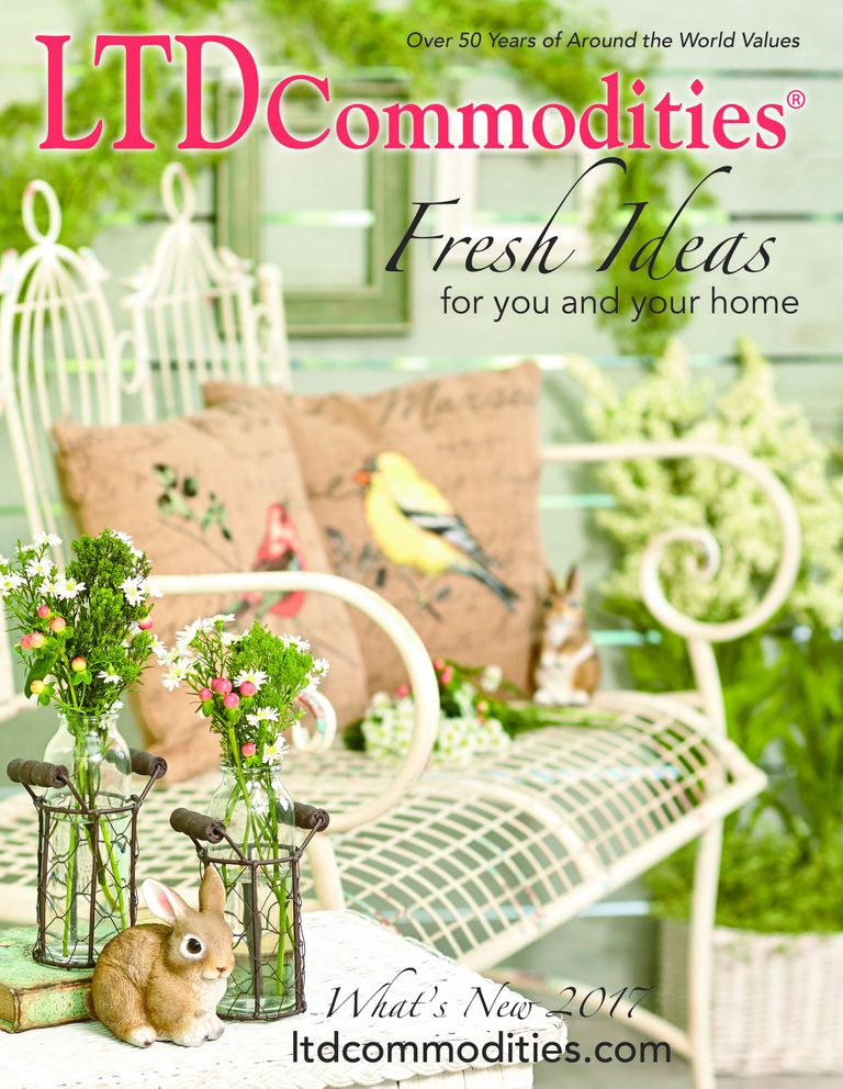 The cover of the 2017 LTD Commodities catalog