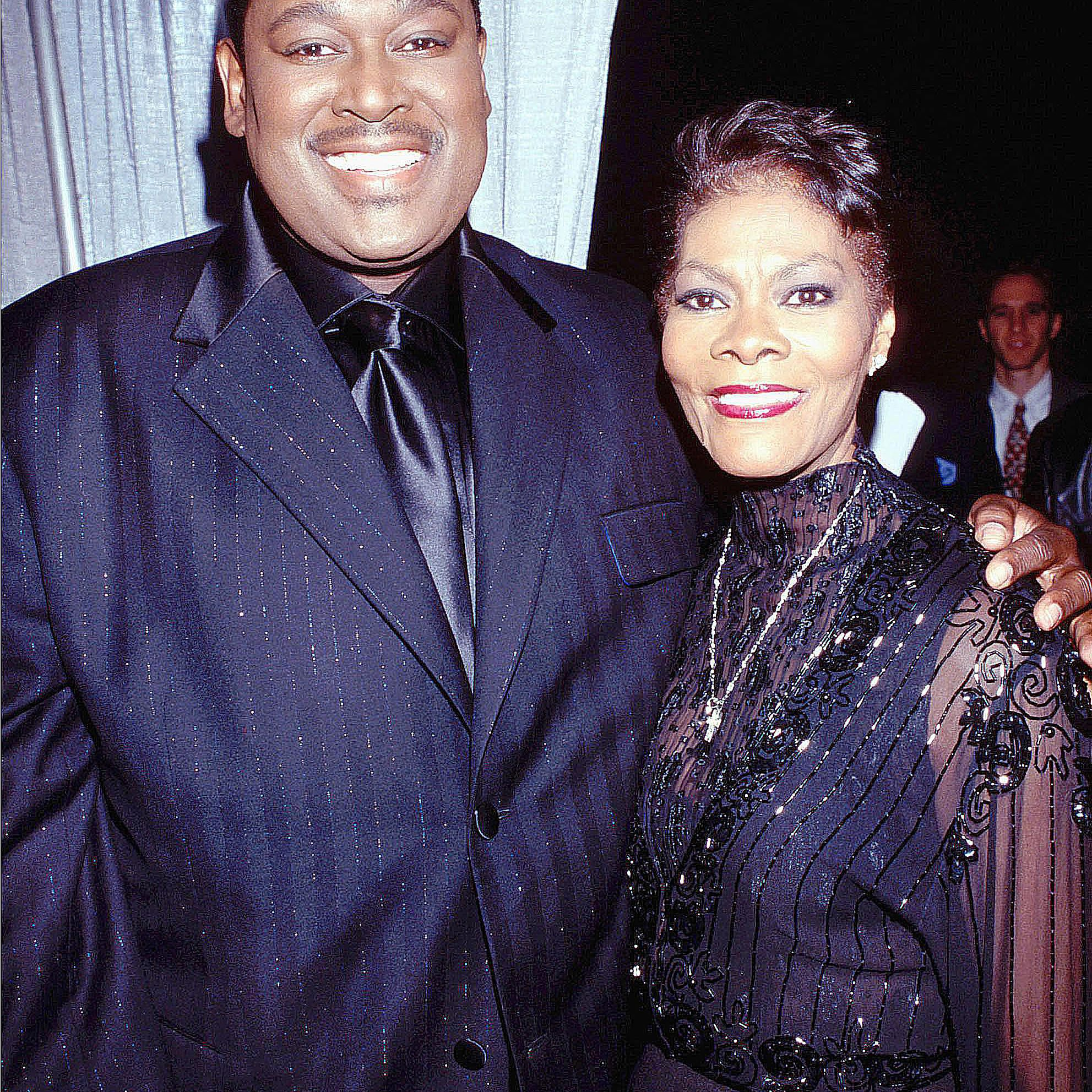 Luther Vandross and Dionne Warwick
