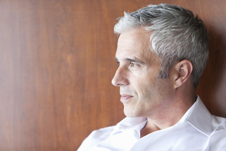 Man With Gray Hair