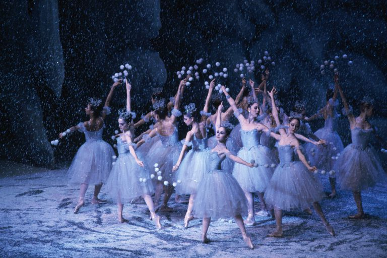 New York City Ballet Performs Nutcracker Suite