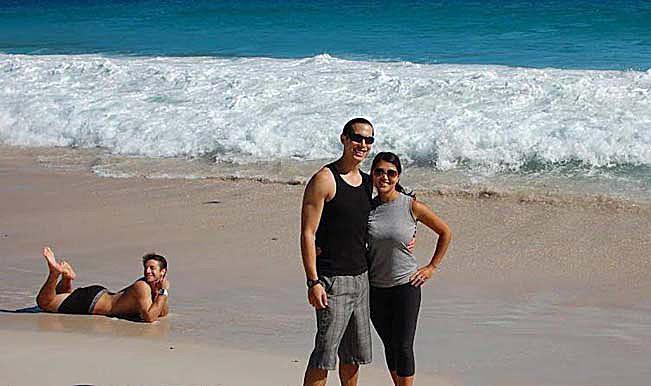 Image caption Funny beach