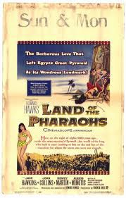 Land of the Pharaohs movie poster