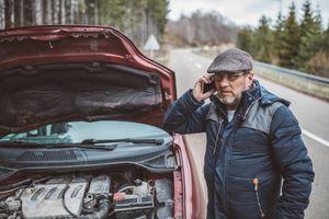 Calling for roadside help