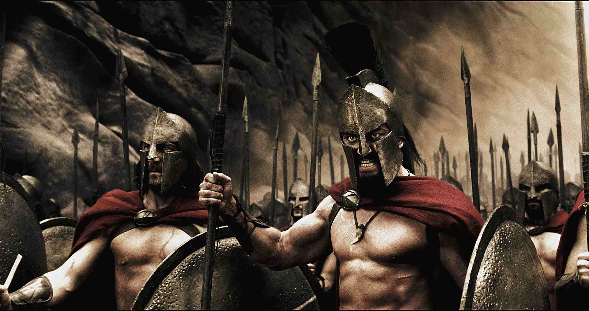Captain, Leonidas, and the Spartans