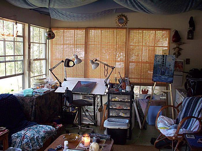Photos of painting studios