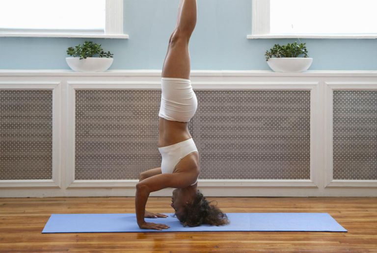 Fortunately, you don't need to do a headstand for the inversion method to work.