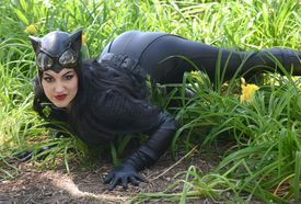 Cosplayer Chrissy Lynn Kyle as Catwoman