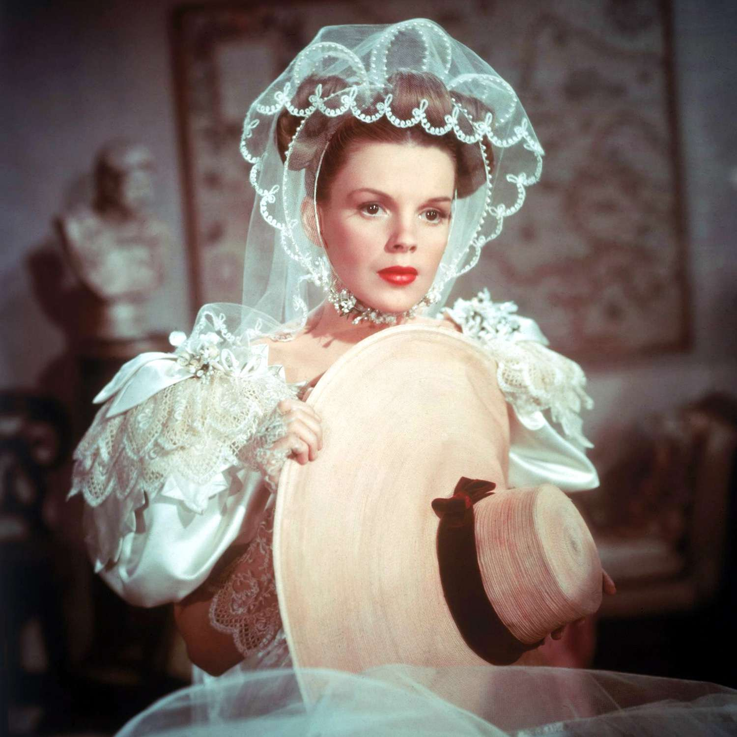 """Judy Garland, as Esther Smith, in """"Meet Me In St Louis,"""" 1944."""