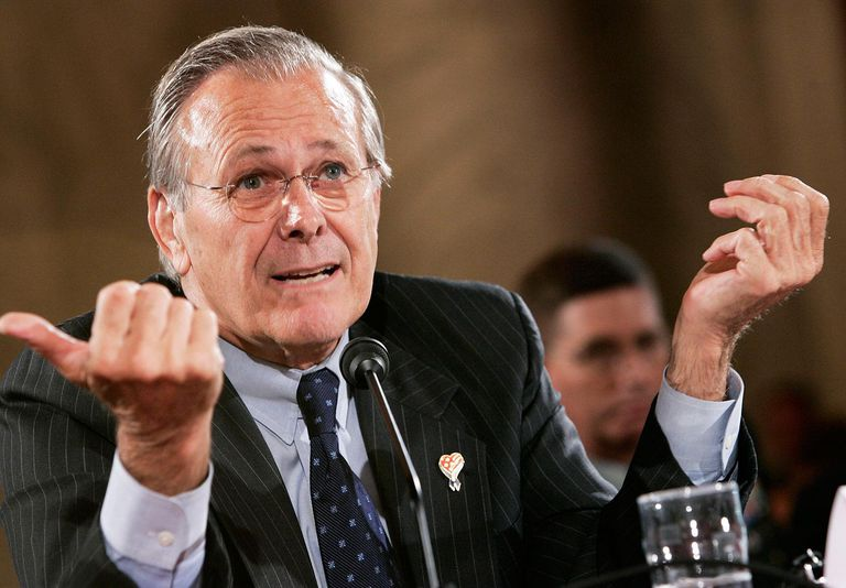 Rumsfeld, Myers Testify Before Senate Armed Services Committee