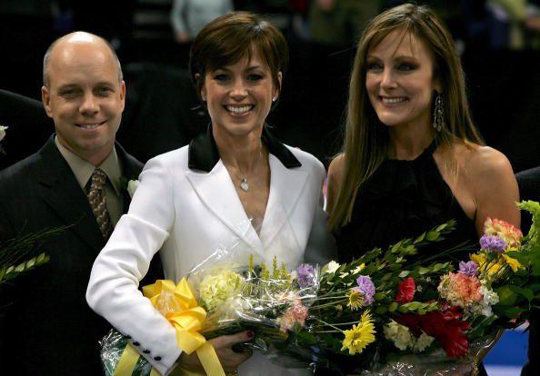 Olympic Figure Skating Champions Scott Hamilton, Dorothy Hamill, and Peggy Fleming