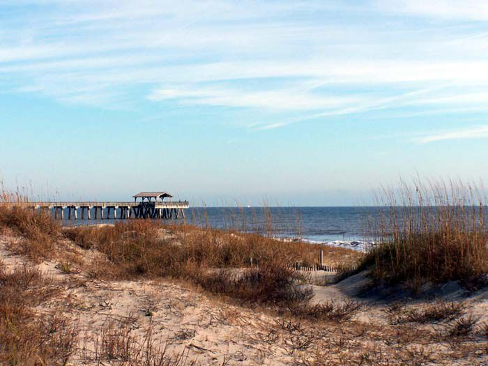 Seascape Reference Photos for Artists: Tybee Island Beach 5