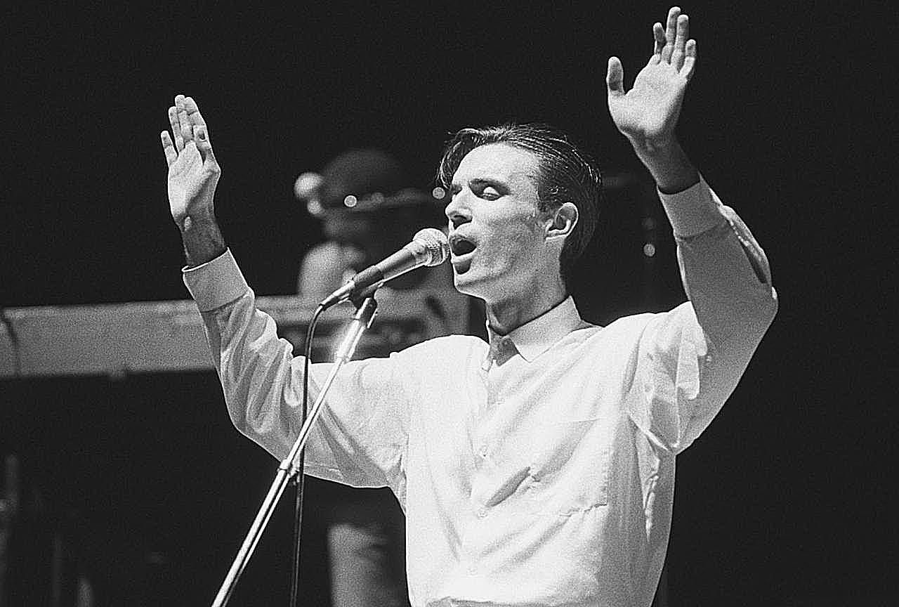 David Byrne, front man for the Talking Heads