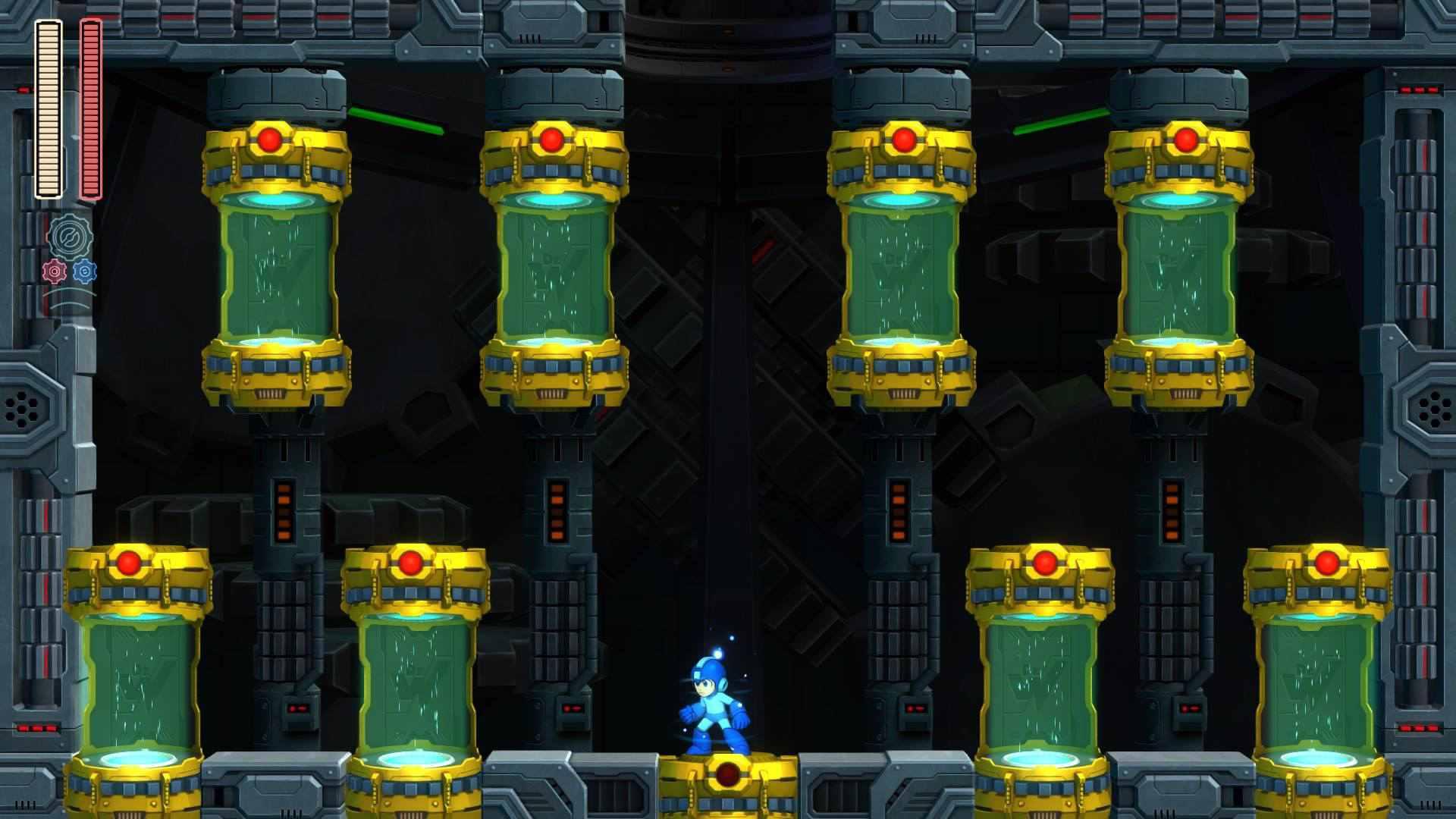 The robot master gauntlet in Mega Man 11