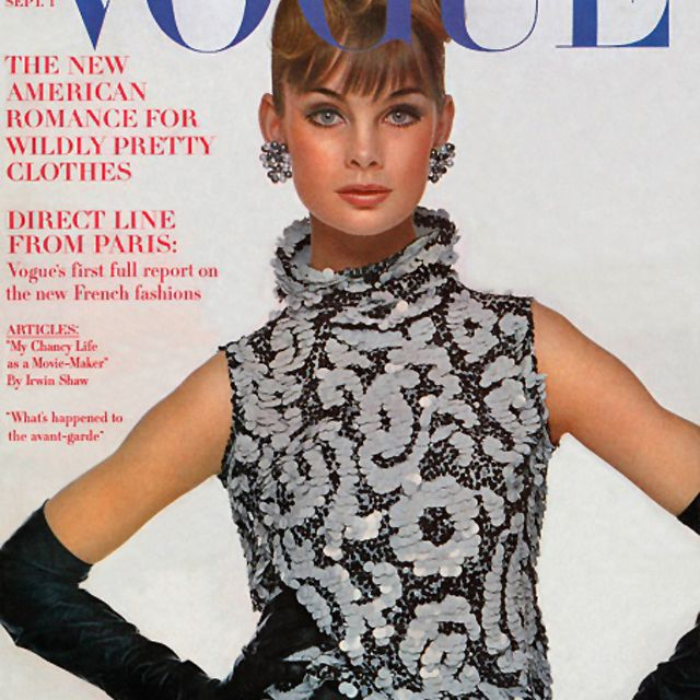 Jean Shrimpton Vogue Magazine
