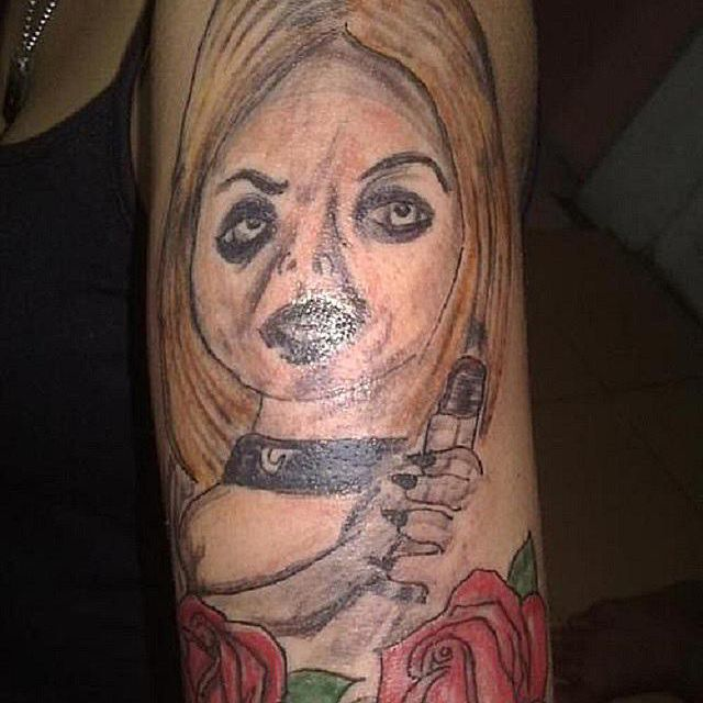 20 Funny Portrait Tattoos That Went Seriously Wrong