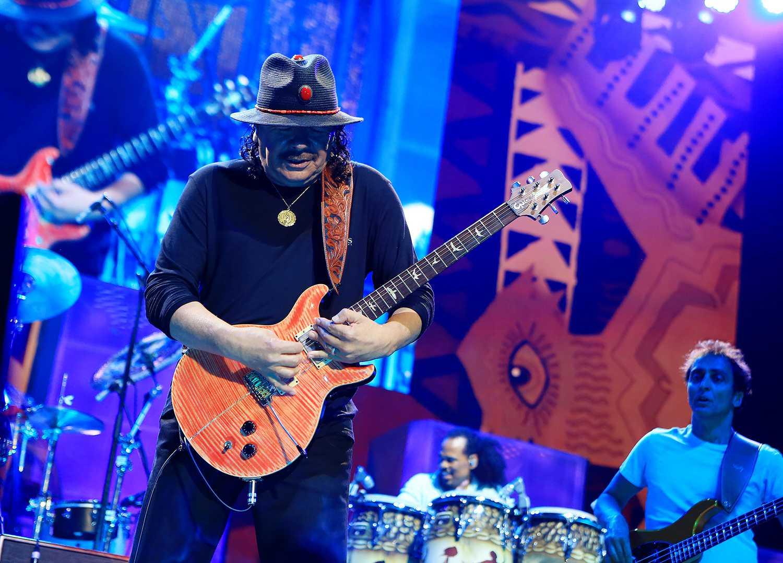 Santana & Rod Stewart In Concert