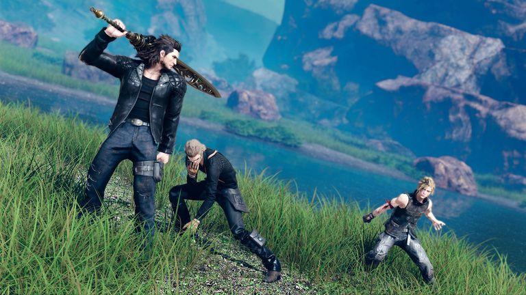 Screenshot from Final Fantasy XV