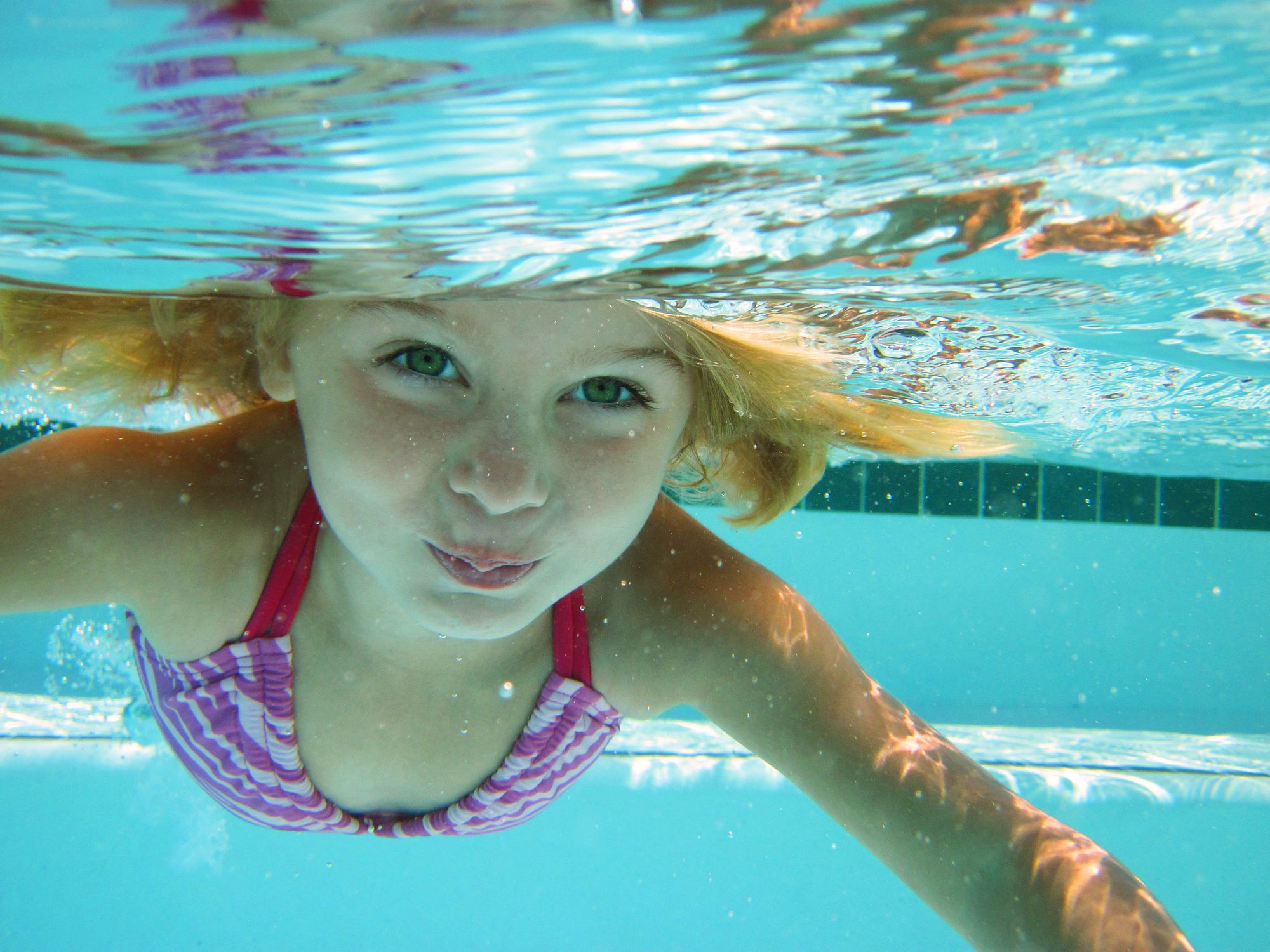 Swimming while black