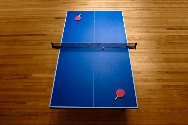 ping pong table surface
