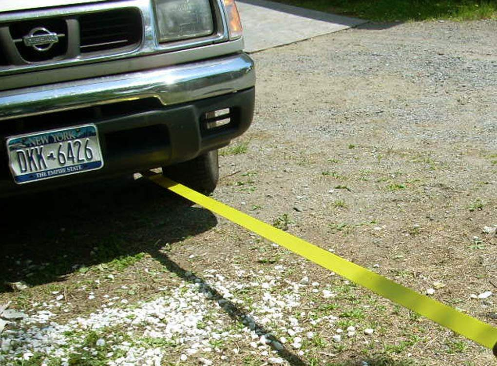 tow strap truck