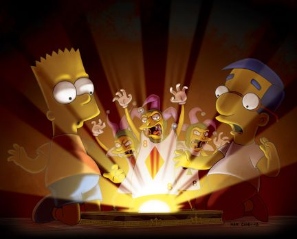War and Pieces - Treehouse of Horror XXI - The Simpsons