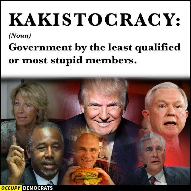 kakistocracy - Trump meme