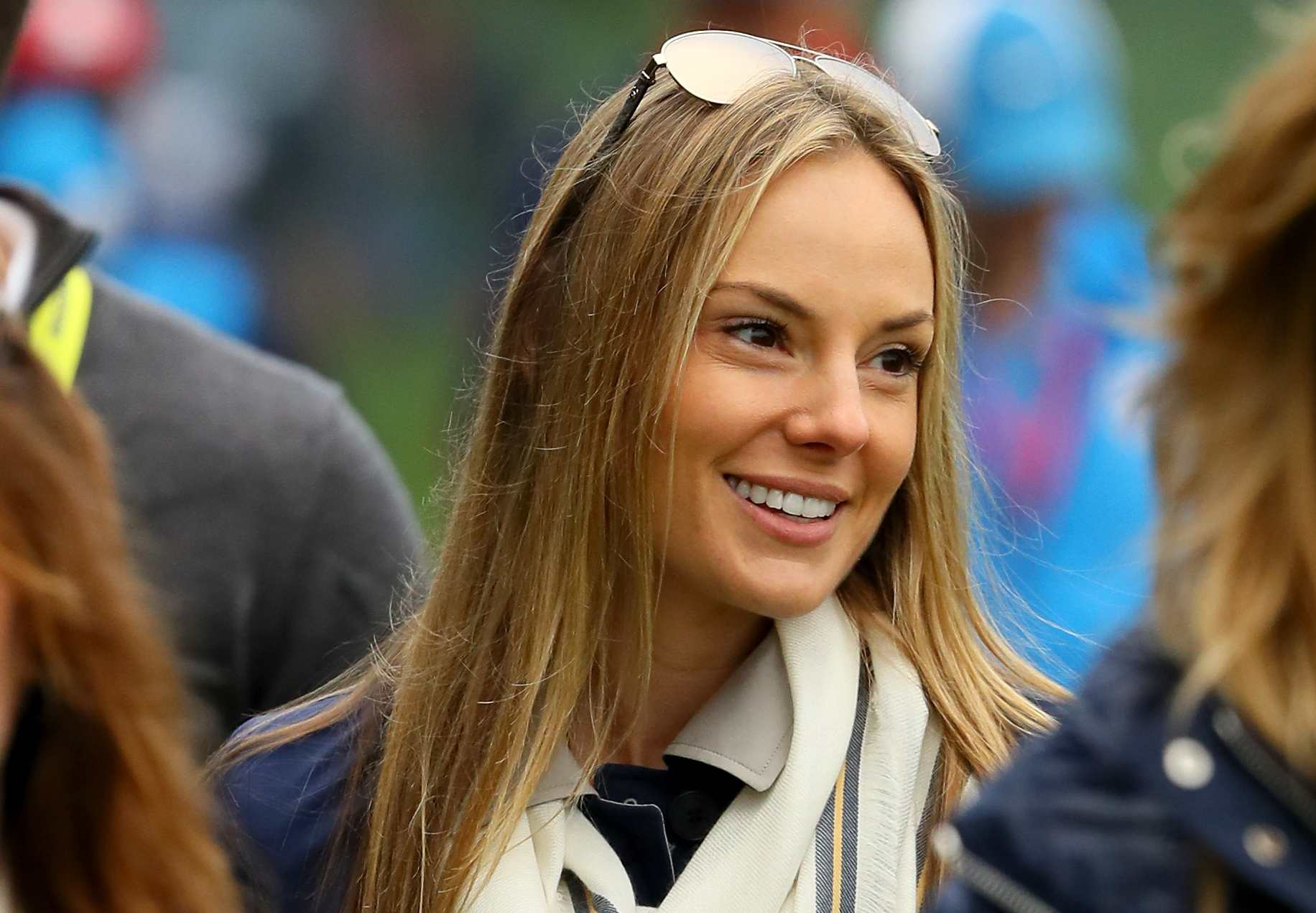 Erica Stoll photographed in 2016 at the Ryder Cup.