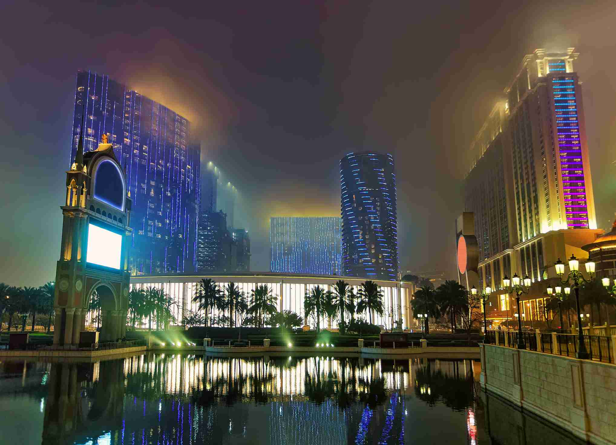 Photo of the City of Dreams Casino in Macau