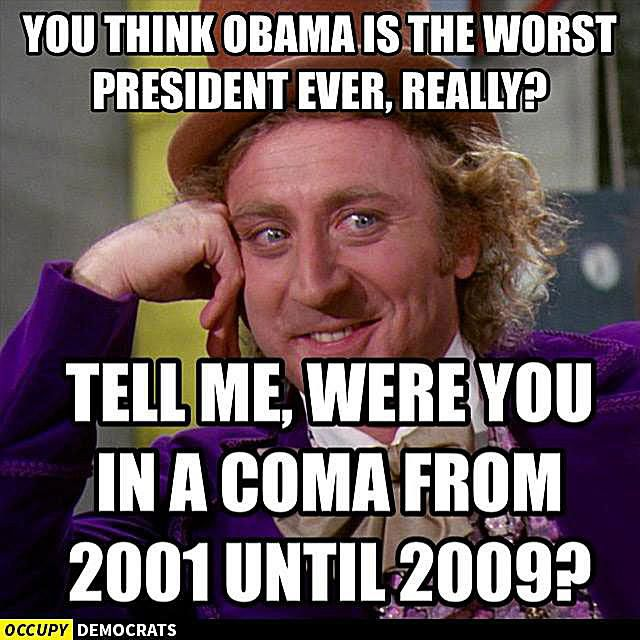 Think Obama Is the Worst Preident Ever?