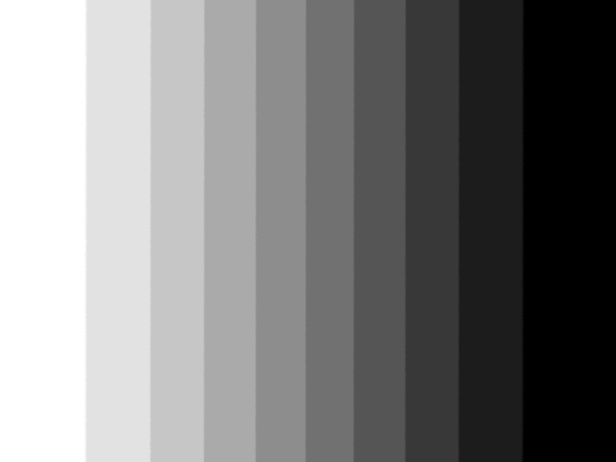A gray scale, vertically arranged.