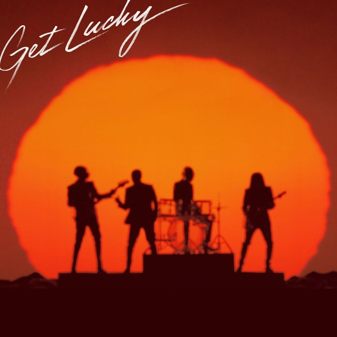 "Daft Punk ""Get Lucky"" album cover."