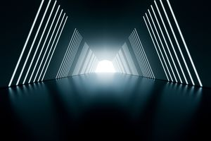 abstract tunnel image