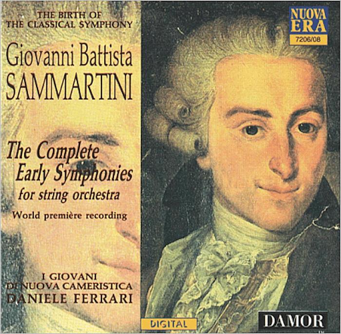 Giovanni Battista Sammartini - The Complete Early Symphonies