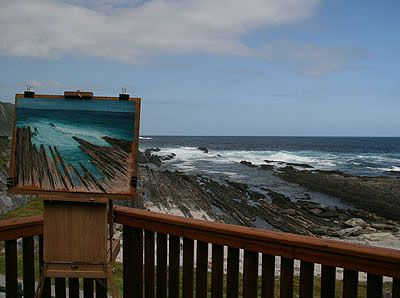 Pastel Painting Step-by-Step Demonstration: Seascape