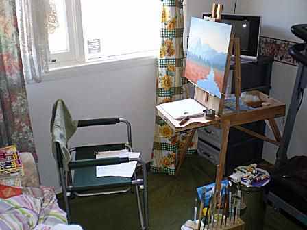 Claude's Painting Studio