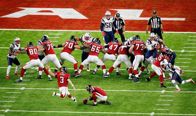 Super Bowl LI - New England Patriots vs Atlanta Falcons