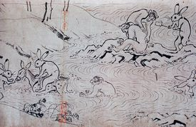 Choja Gigu handscroll